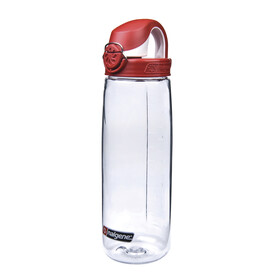 Nalgene Everyday OTF - Bouteille - transparente/rouge